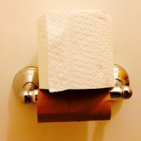 toilet paper roll - nearsighted
