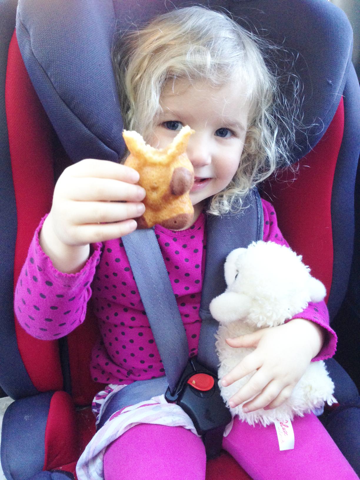 Barny bear snacks