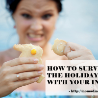 surviving holiday with inlaws